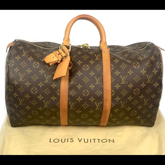 4342a0ea0258 Louis Vuitton Handbags - 🌺Louis Vuitton Monogram Keepall 50 duffle